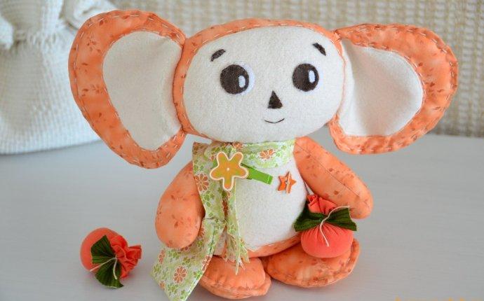 Чебурашка своими руками мягкая игрушка — Nialtur.ru