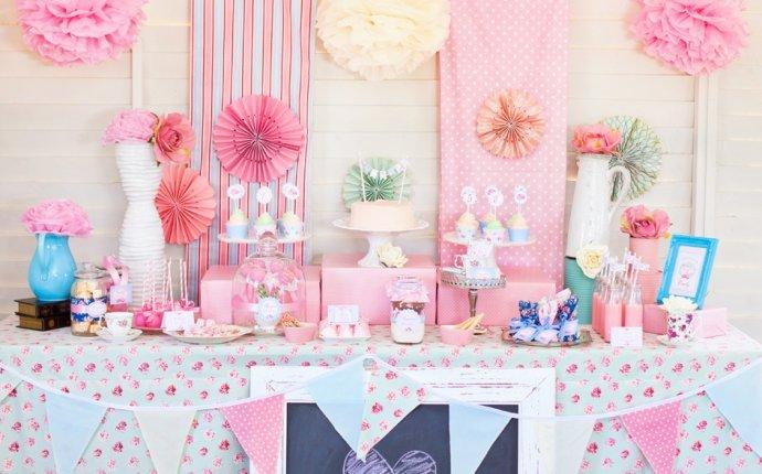 Декор для дня рождения дома - Декор детского дня рождения в стиле