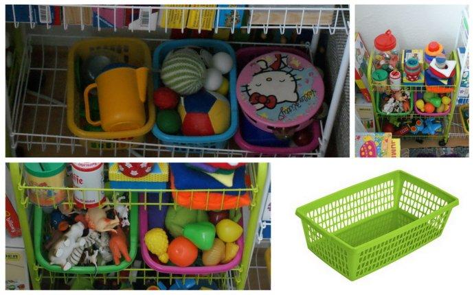 Хранение игрушек: экскурсия в наш игровой уголок |