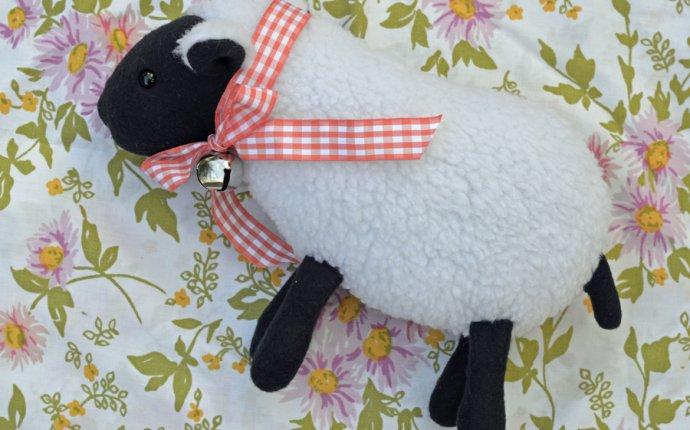 игрушка-овечка своими руками (мастер-класс с выкройкой)