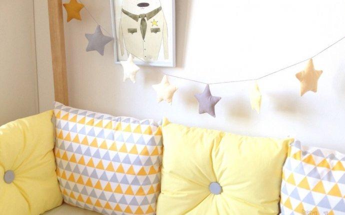 Как сшить бортики в детскую кроватку для новорожденных своими