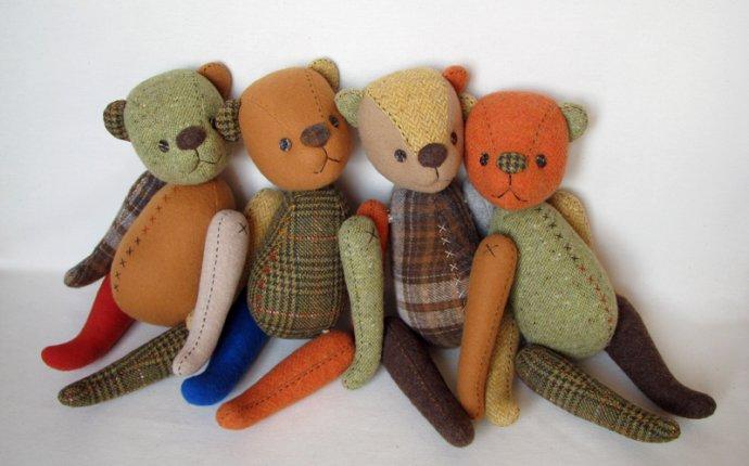 Loir: Выкройки мишек Тедди. Часть 3