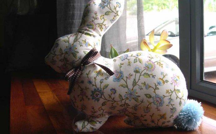 Подушка Кролик - Волшебный мир Беатрикс Поттер - Выкройка, Подушка