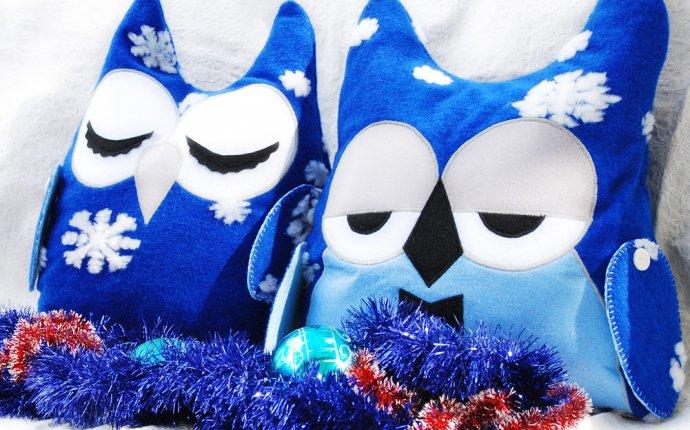 Подушки декоративные - совы сплюшки, игрушки | Мамин Креатив