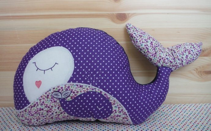 Шьем игрушку-подушку «Китенок» | Шитье | Pinterest | Шить