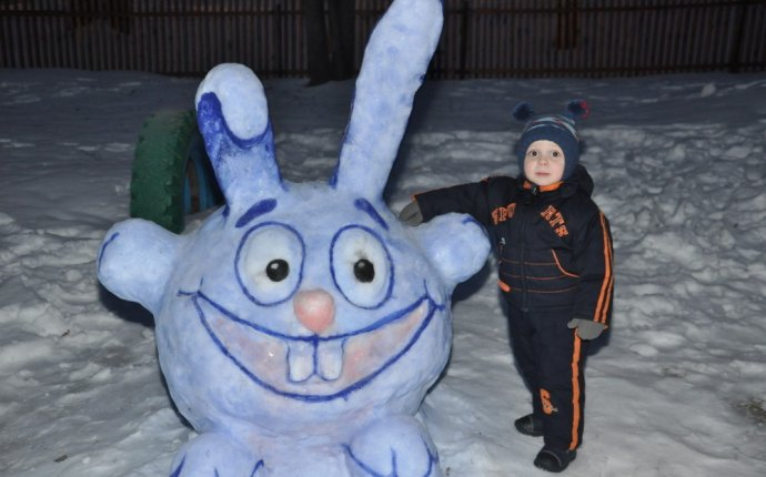 Смешарики из снега своими руками фото — Spbteplichka.ru