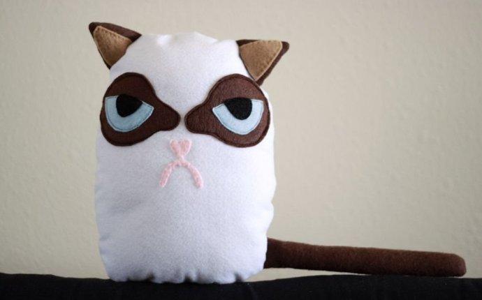 сшить игрушку - Унылого Кота