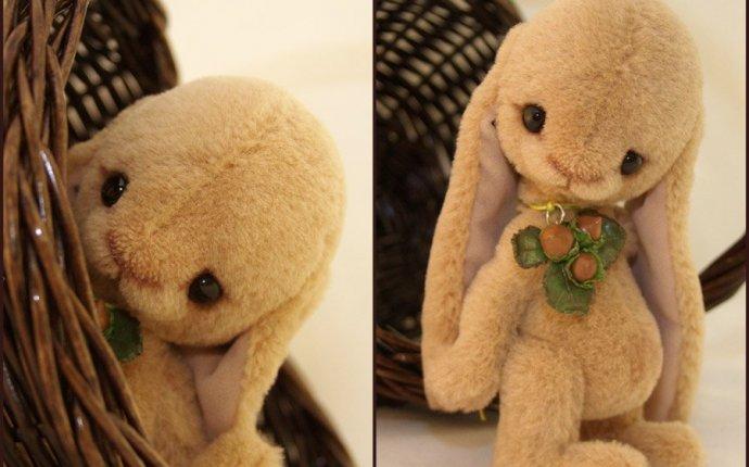 Выкройка зайца с длинными ушами с - Выкройки Зайцев Тедди