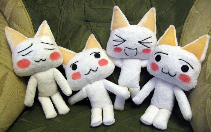 Аниме плюшевые игрушки своими руками